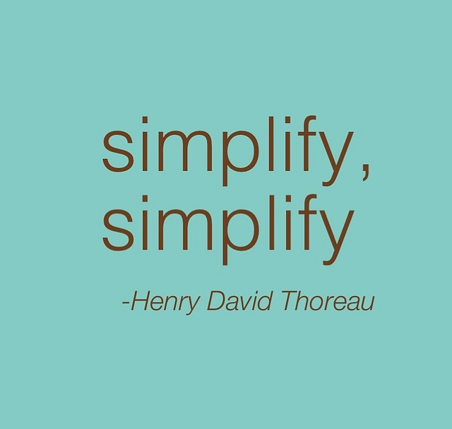 Image result for simplify, simplify